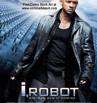 iRobot movie poster