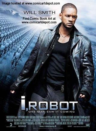iRobot movie poster