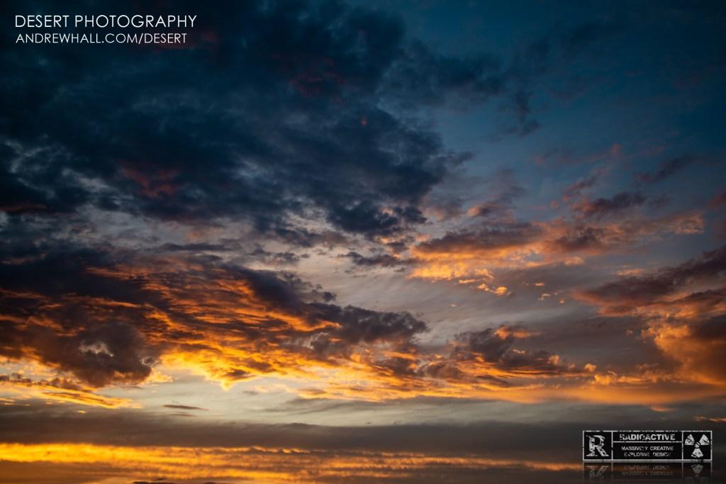 Desert Sky at Sunset