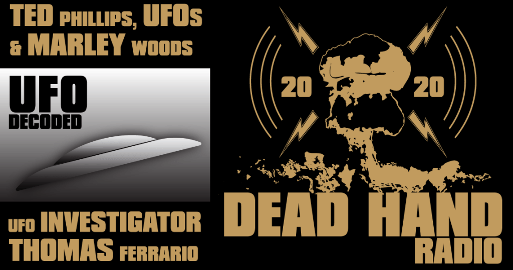 Ted Phillips UFOs and Marley Woods with UFO Investigator Thomas Ferrario