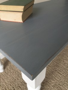 White and gray Coffee Table 3