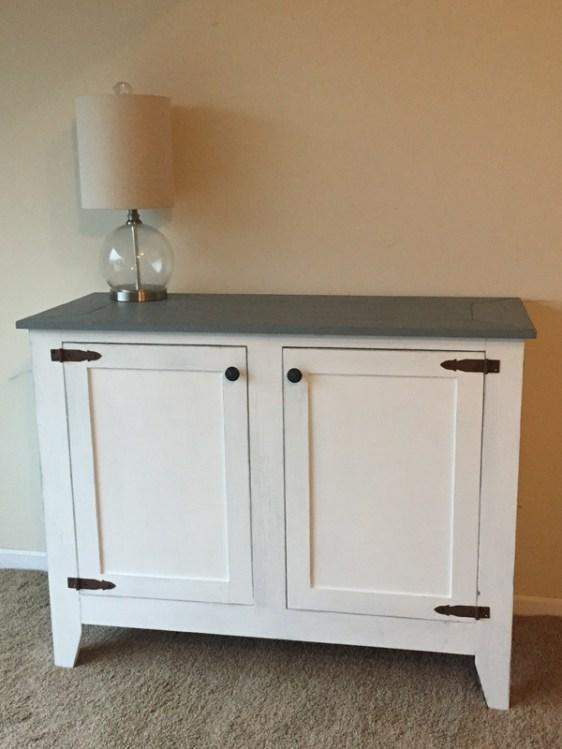 White cabinet 1