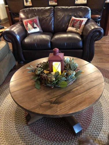round coffee table andrew harris woodwork