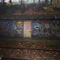 Street art along the way