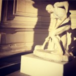Statue in Square du Palais Galliera
