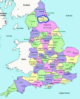 map-of-england