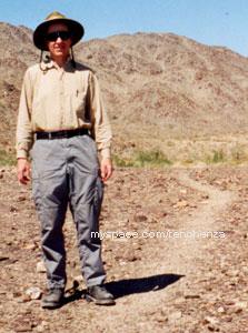 Ancient Native American Trail in the California Desert