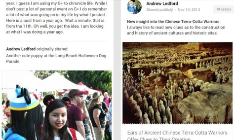 Andrew's G+ 11-14 Terra-Cotta Warriors and cute gals from a year ago