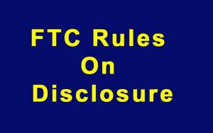 FTC Rules On Disclosure