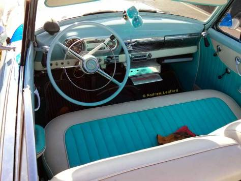 Chevy Bel Air Convertible Front Seat Frisco's
