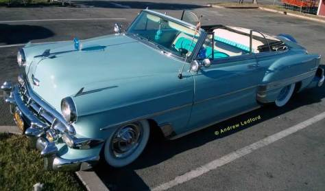 Chevy Bel Air Convertible At Frisco's