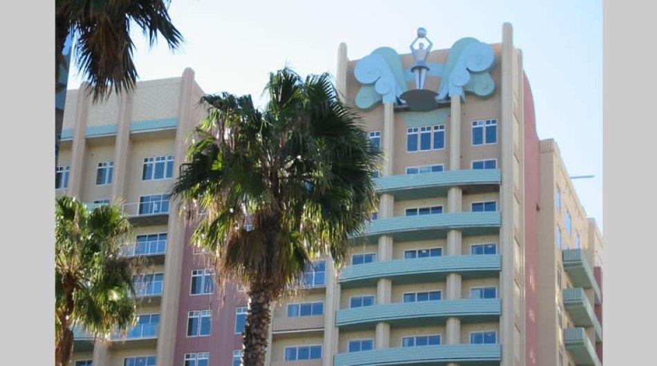 Ocean Villas Promenade and Buildings, Long Beach, CA
