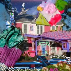 neighborhood #2, 2015Mixed Technique, Digital Collage