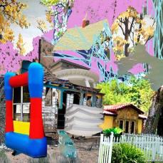 neighborhood #9, 2015Mixed Technique, Digital Collage