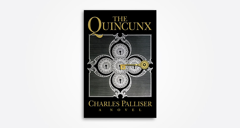 The Quincunx by Charles Paliser – cover design by Andrew Newman