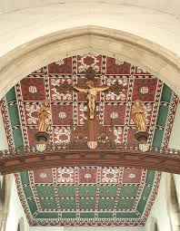St Benet's Kentish Town, the chancel ceiling.