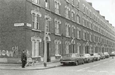 Amelia Street, Walworth c.1978
