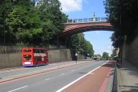 Bridge (1897-1900) over the Archway Road, by Sir Alexander Binnie.