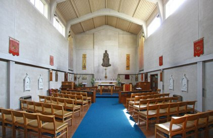 St Thomas, Kensal Road, London W10; east end, c.2010; image by John Salmon. [Source: geograph.org.uk]