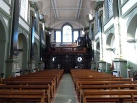 Church of Our Most Holy Redeemer & St Thomas More, Chelsea, London (UK). [Source: taking-stock.org.uk]