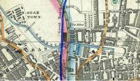 1851 map of agar town