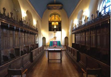 Haggerston Priory chapel