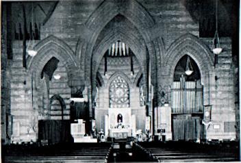 St Thomas, NW1, the chancel