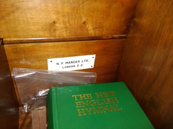 The organ, Haggerston Priory (London UK)