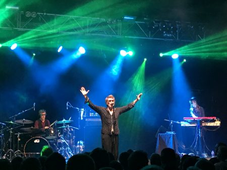Richard Butler of the Psychedelic Furs Adopts a Typically Theatrical Pose Before an Adoring Crowd at Bristol 02 in September 2017.