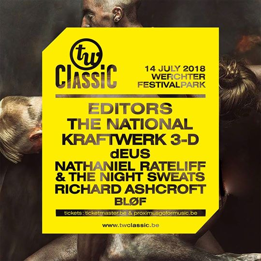 TW Classic Festival - Werchter - Belgium - July 14th 2018