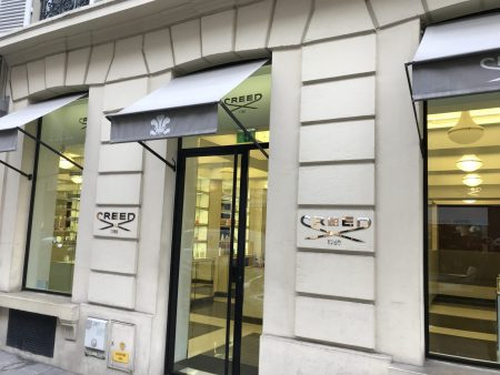 Creed Boutique - 74 Rue des Saints-Pères, 75007 Paris, France.