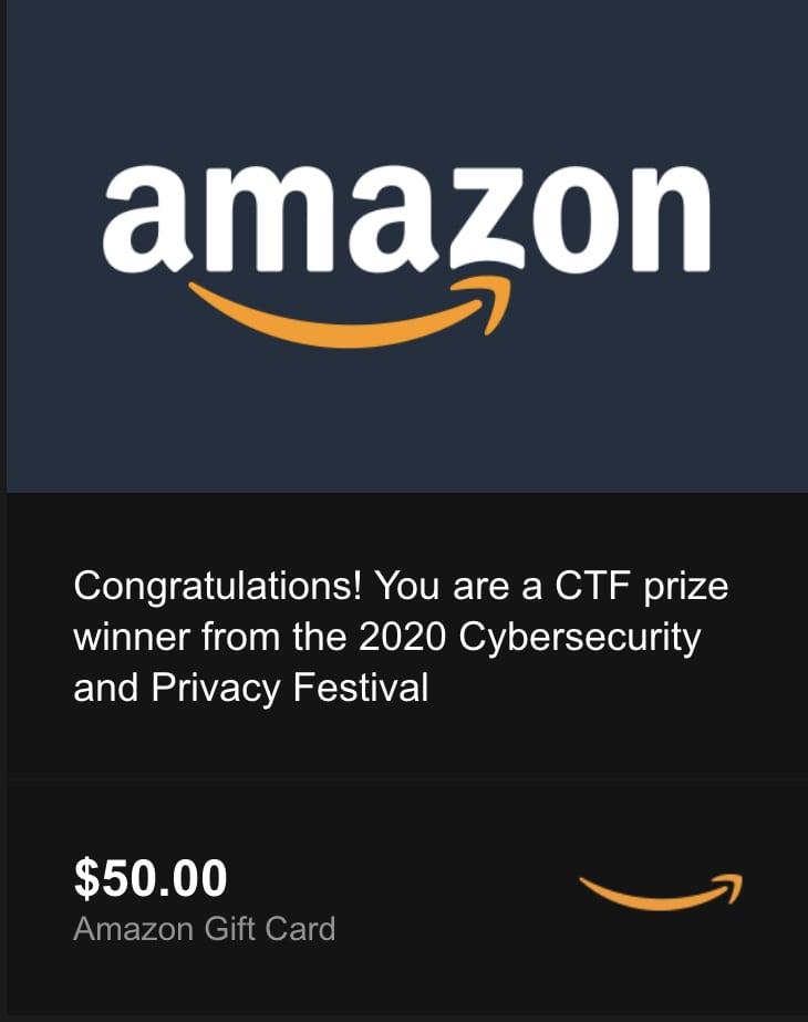 CTF Prize