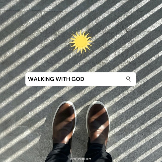 This image has an empty alt attribute; its file name is WALKING-WITH-GOD-1024x1024.jpg