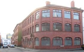 Corner of Vittoria Street and Regent Street