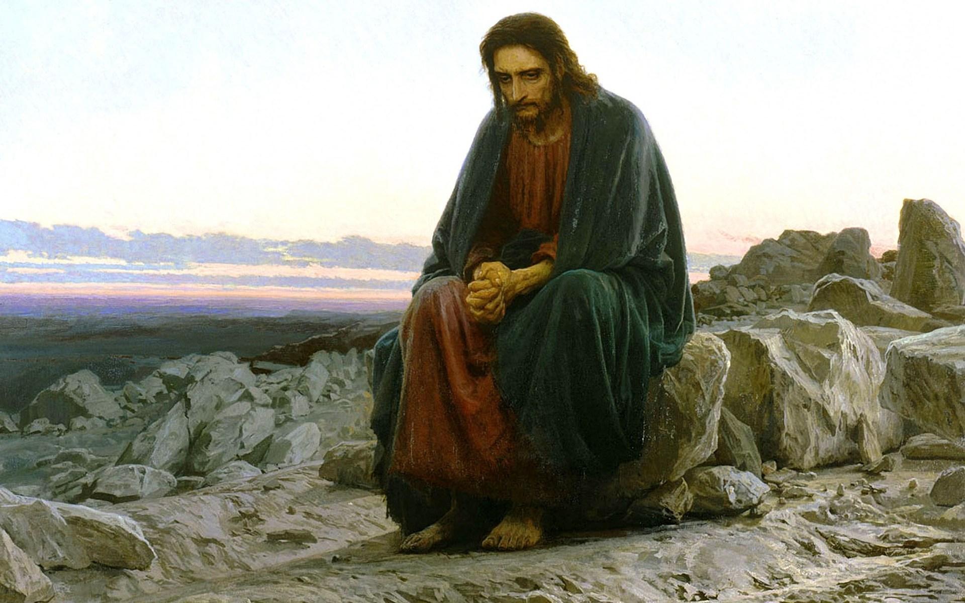 Depressed Jesus