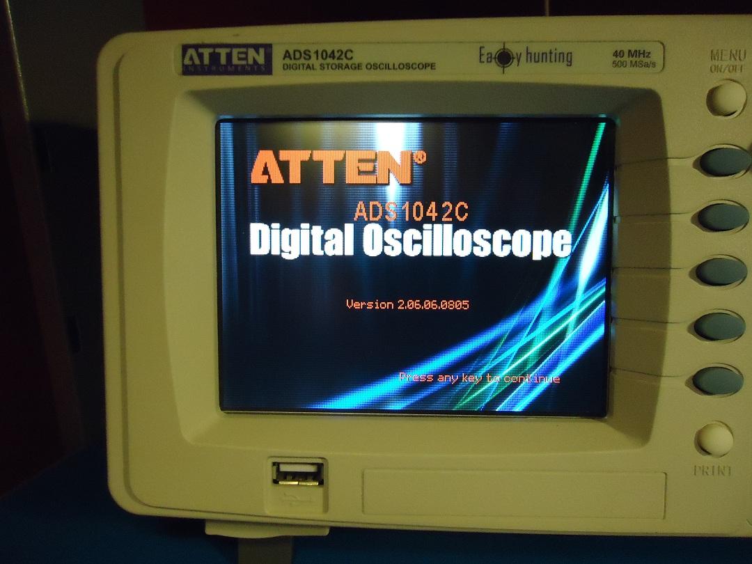 ATTEN ADS1042C Digital Oscilloscope Review – All The