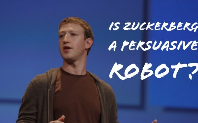 Mark Zuckerberg Facebook: A Persuasive Robot? Video & Podcast