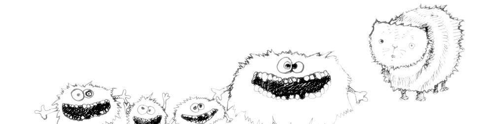 fantasy creatures pencil sketch artwork for sale