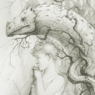 Artwork Bram Stoker The Lair of the White Worm