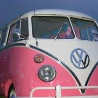 The Pink Camper Van