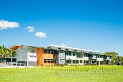Exterior image of Senior Learning Centre building at Trinity Beach State School