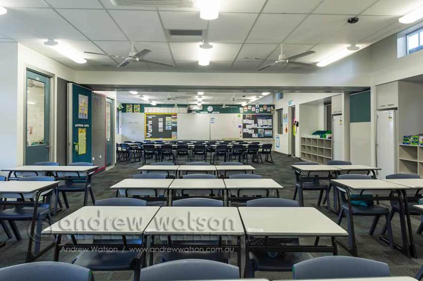 Image of classroom in Senior Learning Centre building
