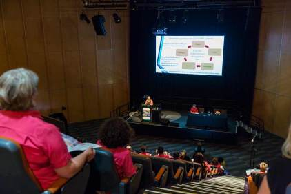 Image of plenary session at CNSA Annual Annual Congress in Cairns