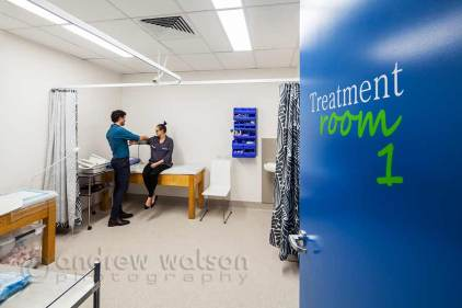 Interior image of Abbott Medical Clinic treatment room