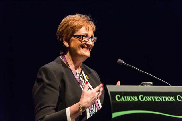 Image of speaker at CNSA Annual Annual Congress in Cairns
