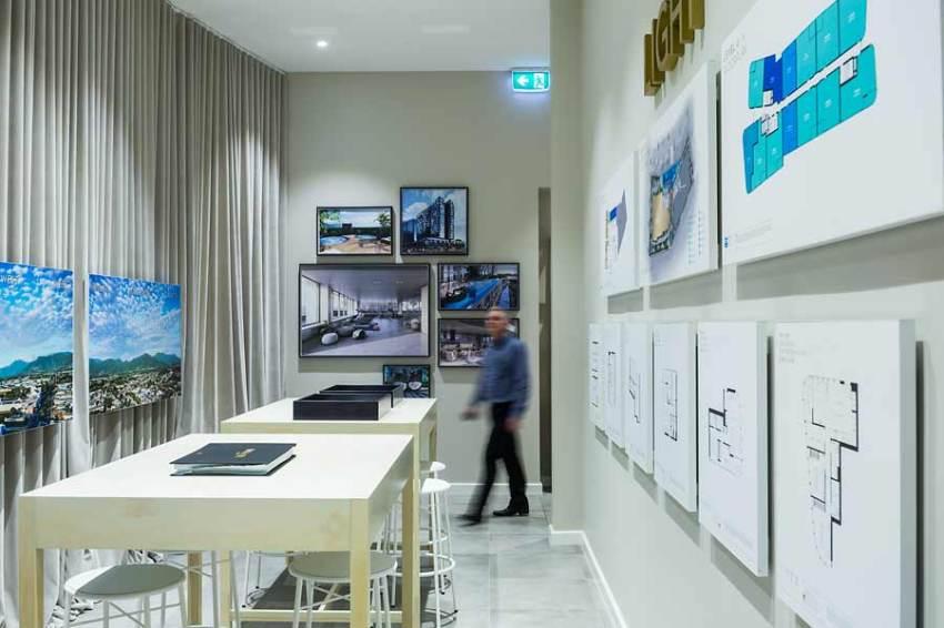 Inside the display suite for Nova City