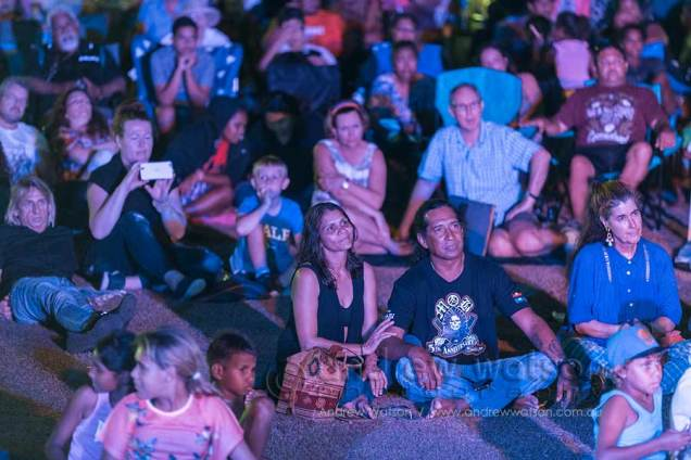 Image of the crowds at the Yarrabah Band Festival