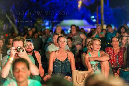 Image of crowds at the Yarrabah Band Festival