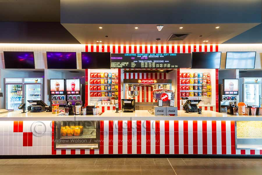 Image of candy bar at Smithfield Shopping Centre Events Cinema