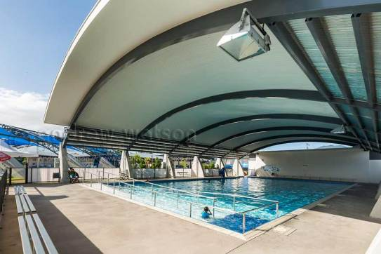 Image of 25 metre pool for hydrotherapy activities